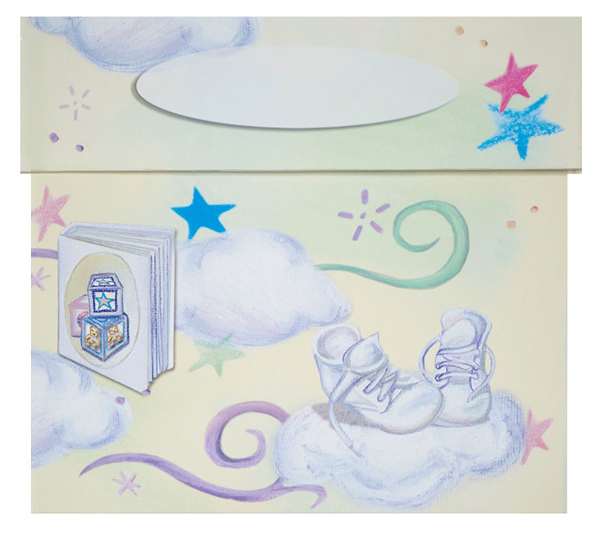 BABY MEMORABILIA STORAGE BOX